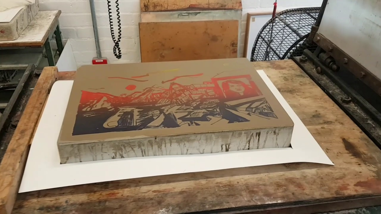 how to make a lithograph