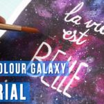 How to Paint a Galaxy | Galaxy art