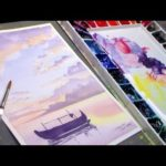 How to Paint Sunsets in Watercolor