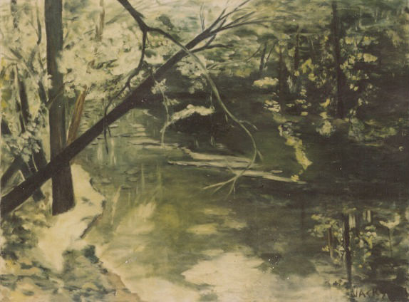 Tennessee Creek Painting