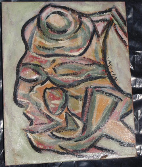 abstract indian painting