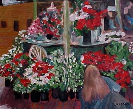 buying flowers painting-03