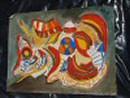 redbug abstract watercolor