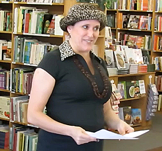Janet at World Poetry Day