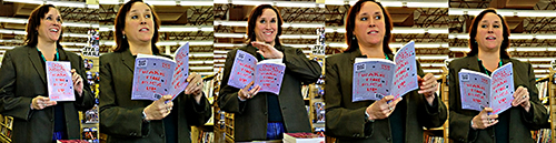 Book readings at Half Price Books