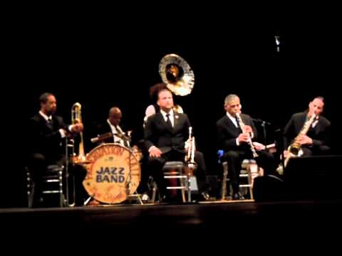 """Preservation Hall Jazz Band, With Marcia ball - """"Just A Closer Walk With Thee"""""""