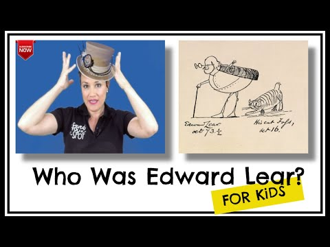 Who Was Edward Lear For Kids
