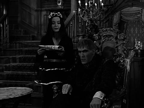 The Addams Family S01e17 Mother Lurch Visits the Addams Family