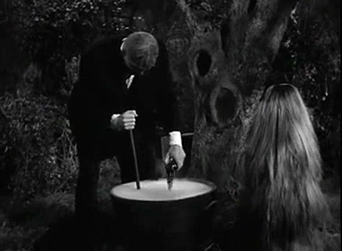 The Addams Family S01e27 The Addams Family and the Spaceman