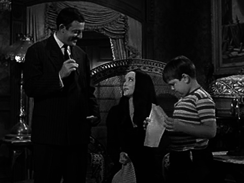 The Addams Family S01e6 Morticia Joins the Ladies League