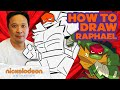 How to Draw Raphael ?? | Draw Along w/ Alan Wan ?? | Rise of the TMNT