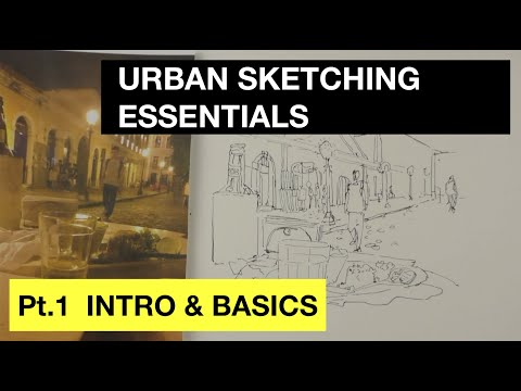 Urban Sketching Essentials Part 1 | Intro & Basics | Strathmore