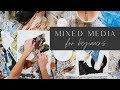 Mixed Media Painting For Beginners ??