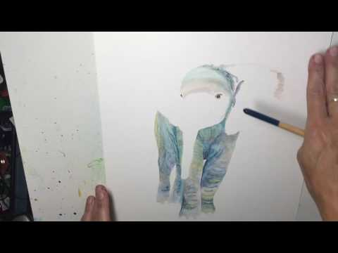 Yupo paper painting: two tips to make painting easier!