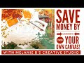 HOW TO FRAME YOUR PAINT BY NUMBER CANVAS & SAVE MONEY | DIY CANVAS STRETCHING | Tutorial Stretch