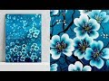 Easy acrylic painting for beginners | painting tutorial | Tree of flowers | Satisfying demo