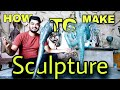 How To Make Metal Sculpture | Sculpture Making Process | Casting Bronze Brass Statue | INDIA'S PRIDE