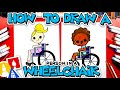 How To Draw A Person Sitting In A Wheelchair