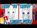 How To Draw A Light Fury From How To Train Your Dragon