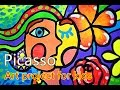 Art project for kids | Picasso 2????????
