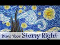 Paint Like Van Gogh - Paint Simply a Starry Night  - Fun Art for Kids