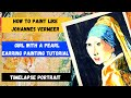 How To Paint Like Johannes Vermeer 'Girl With A Pearl Earring'