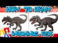 How To Draw Indominus Rex From Jurassic Park