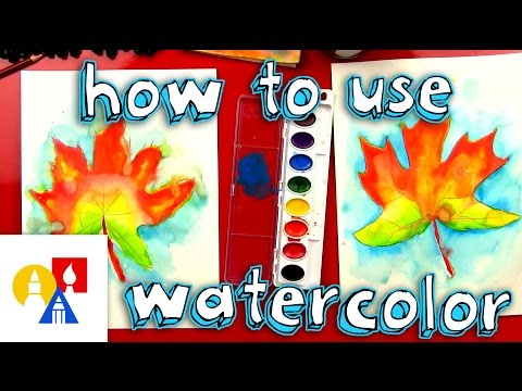 How To Paint With Watercolor (for kids)