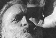 The Retreat poem by Charles Bukowski