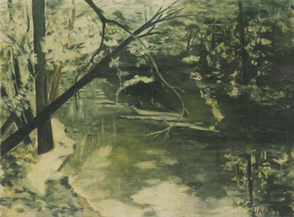 creek painting