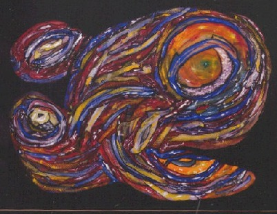 abstract fish painting-01