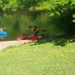 canoe ride leaving