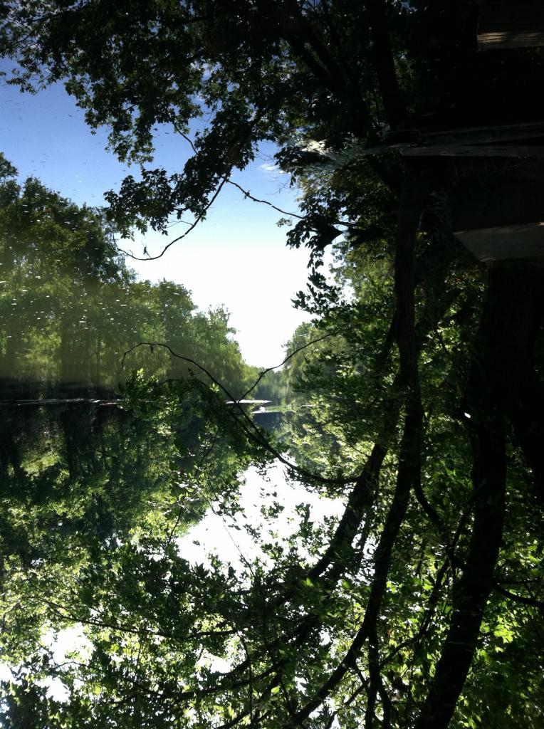 river upside down
