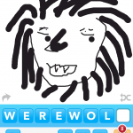 Draw Something Art werewolf