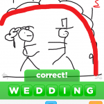 Draw Something Art 5 Wedding