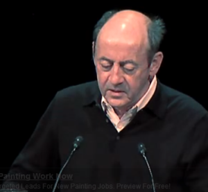 "Uploaded by ForaTv on May 28, 2008 Complete video at: http://fora.tv/2008/04/07/A_Selection_of_Poems_by_Billy_Collins  Former U.S. Poet Laureate Billy Collins discusses stealing material from other writers, and reads his poem, ""Litany."""