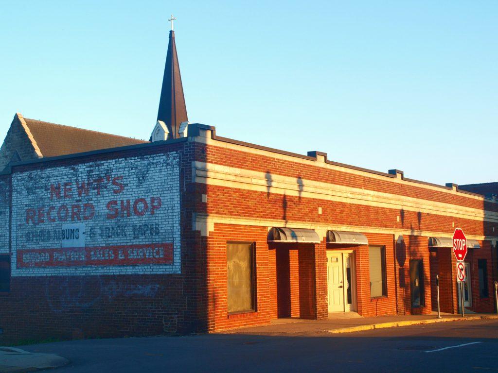 Clarksville_Newts Record Shop