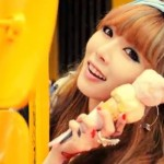 K-Pop_HYUNA ICE CREAM IMAGES_with Ice cream cone_024