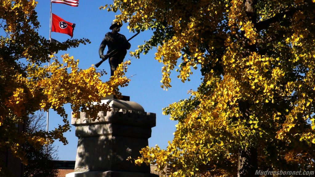 Nathan Bedford Forrest Thru The Trees On The Square 1024x576 Nathan Bedford Forrest Poem