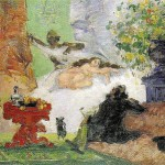 Paintings and Images by Cezanne_A Modern Olympia
