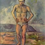 Paintings and Images by Cezanne_Bather