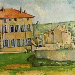 Paintings and Images by Cezanne_Jas de Bouffan
