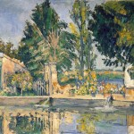 Paintings and Images by Cezanne_Jas_de_bouffan