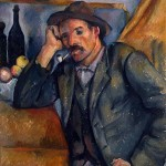 Paintings and Images by Cezanne_Man with a Pipe