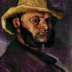 Paintings and Images by Cezanne_Man with a Straw Hat (Portrait of Boyer)