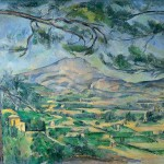 Paintings and Images by Cezanne_Mont Sainte-Victoire