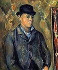 Paintings and Images by Cezanne_Portrait of Paul Cezanne's Son