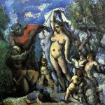 Paintings and Images by Cezanne_Saint Anthony the Abbott (La Tentation de Saint Antoine)