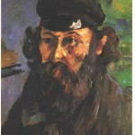 Paintings and Images by Cezanne_Self-Portrait in a Casquette