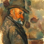 Paintings and Images by Cezanne_Self-Portrait in a Felt Hat